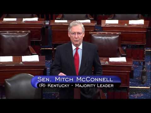 McConnell Congratulates Governor-Elect Bevin