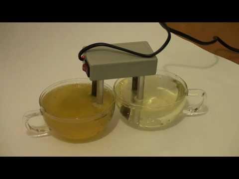 Сравнение воды: водопровод и обратный осмос