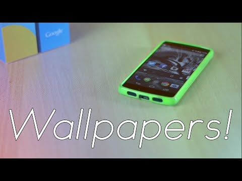 Top 5 Wallpaper Apps For Android 2014! video