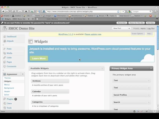 Add Image and File Links to WordPress Sidebar.mp4