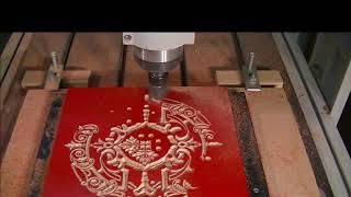 JNChangtai---- Cnc router machine working on wood with fast speed