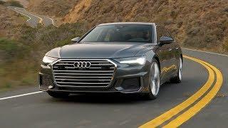 2019 Audi A6 | Daytona Gray Pearl | Driving, Interior, Exterior (US Spec)