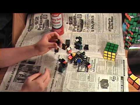 How To Properly Clean/Lubricate A Rubik's Cube