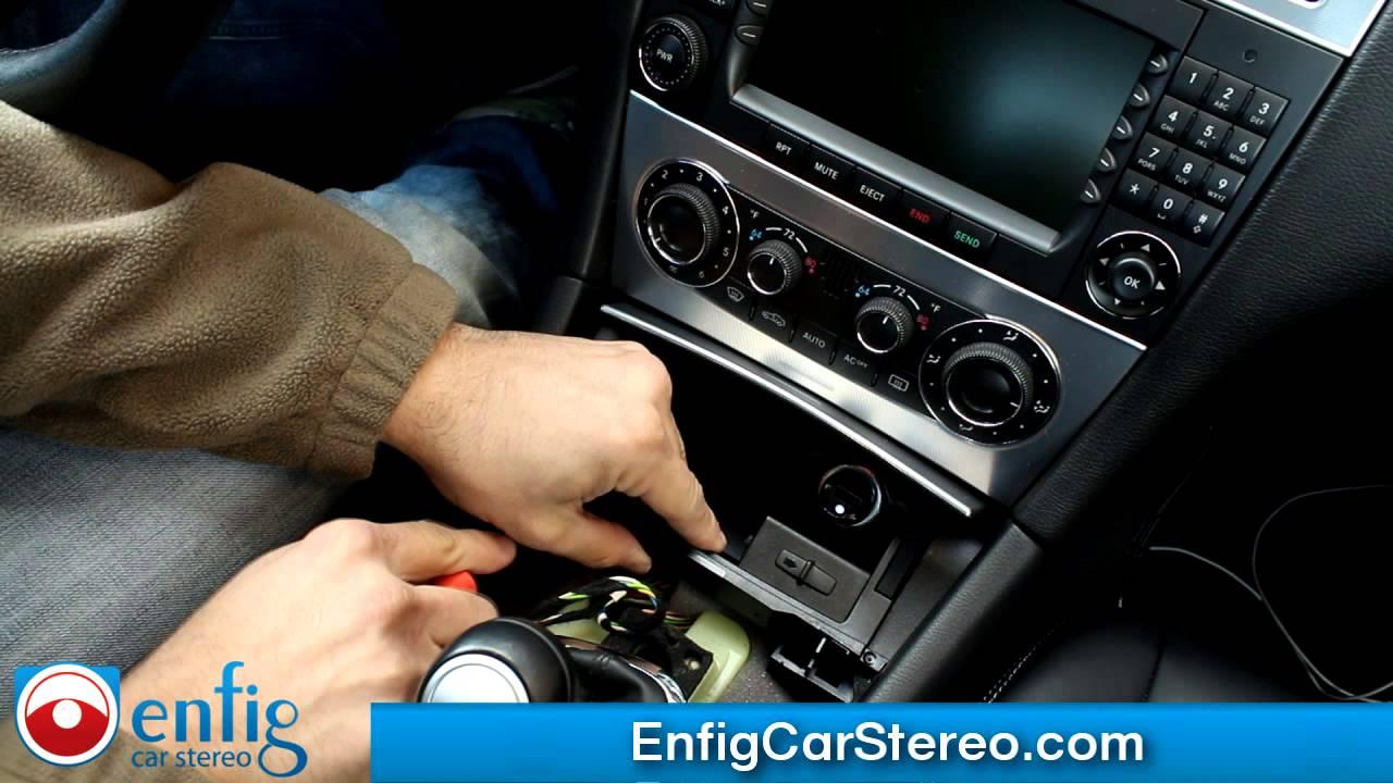 Radio Removal Mercedes R