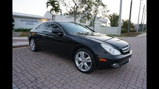 The Mercedes-Benz CLS-Class is a German Jaguar - Full Review of a 2009 CLS 550 Coupe by Bill AEN