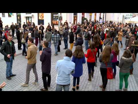 Flash Mob BBSO - 1 Decembrie 2012 [OFFICIAL VIDEO]