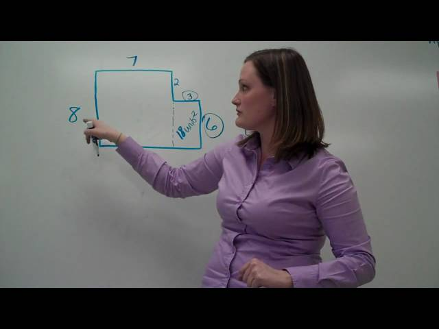 Area of Complex Figures - Addition Method (video #3)