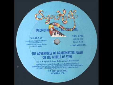 Grandmaster Flash And The Furious Five - The Adventures Of Flash On The Wheels Of Steel