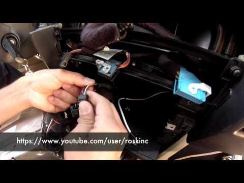 BMW e60 5 series AUX audio ipod install DIY