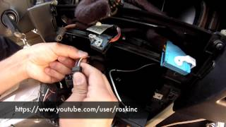 BMW e60 5 series AUX audio ipod install DIY