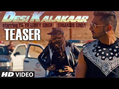 Teaser  Desi Kalakaar Song   Yo Yo Honey Singh   Sonakshi Sinha