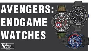 The Watch Report | Marvel Watches From Citizen, New Breitling, Delma, and Nomos Watches