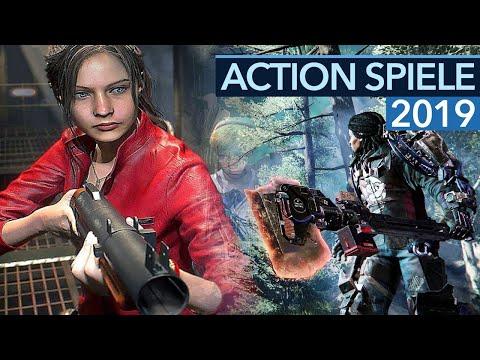 Action-Spiele 2019 - 12 Game-Highlights für PC PS4 und Xbox One