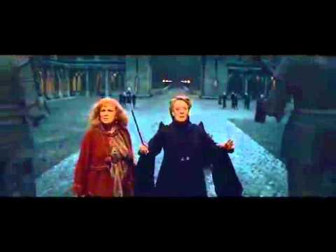 Minerva McGonagall - Piertotum Locomotor Scene