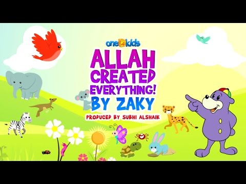 Nasheed - Allah Created Everything By Zaky video
