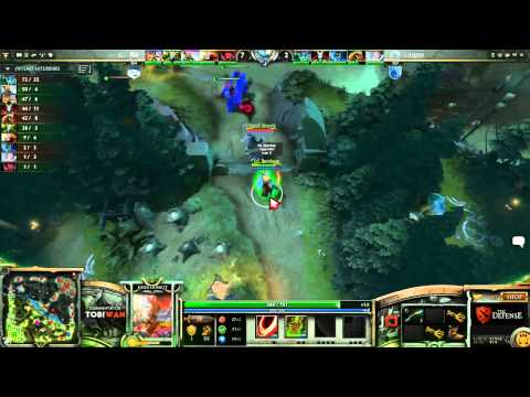 Team Liquid vs Evil Geniuses LB Semi Final Game 1   The Defense DOTA 2 Playoffs   TobiWan