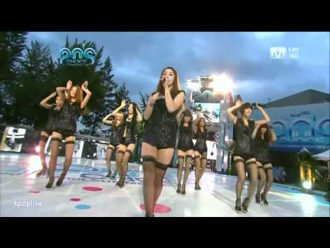 Nine Muses - No Playboy   Mnet 20 Choices (100826) video
