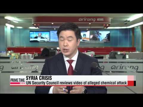 UN Security Council reviews Syria gas attack video   유엔대사들 울린 시리아가스공격 영상