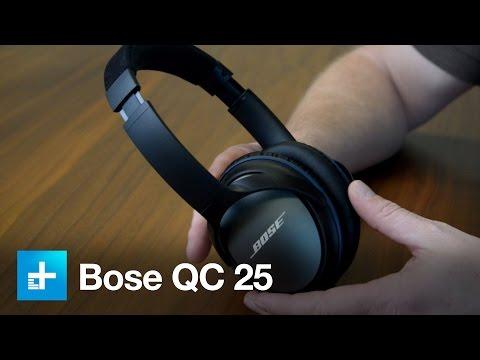 Bose QC25 Noise Canceling Headphones - Hands On