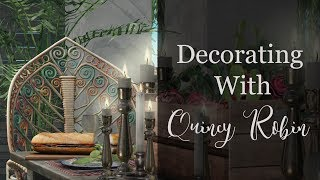Decorating with Quincy - A Bohemian Cookout