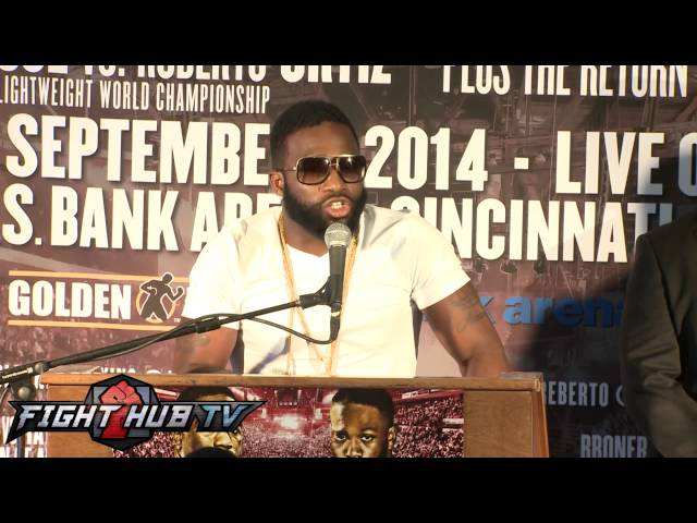 Adrien Broner vs. Emmanuel Taylor press conference highlights