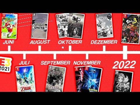 Der Nintendo Switch Spiele Kalender für 2021 & was in der E3 DIRECT angekündigt werden MUSS