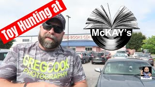 Episode 186 - Toy and Pop Hunting at McKay's Book Store