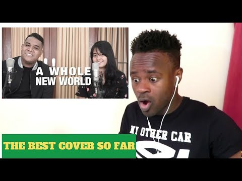 Download A Whole New World - Peabo Bryson, Regina Belle Cover by Hanin Dhiya & Andmesh - Reaction Mp4 baru