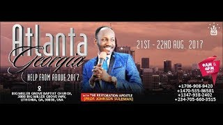 BREAKING: The U.S GOVERNMENT SHOWERS Apostle Johnson Suleman with MULTIPLE HONORS