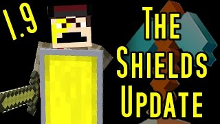 Minecraft Update - SHIELDS (Craftable) & Ender Crystal Explosions (1.9)