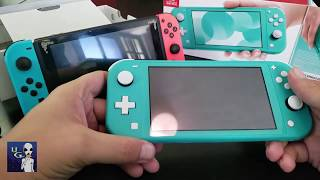 Nintendo Switch Lite (Turquesa) - UNBOXING!