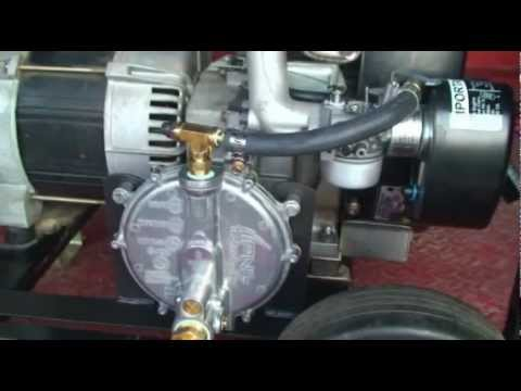 Tri Fuel Conversion for Generator