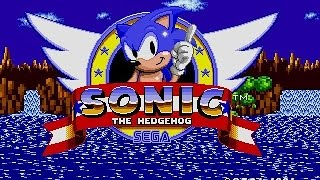 Sonic the Hedgehog - 1991 - recenzja Mega Drive (Strefa Retro) - Sega Genesis review