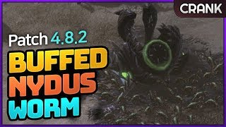 StarCraft 2: [4.8.2 Patch] Buffed Nydus Worm