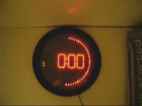 jaycar led clock kit youtube