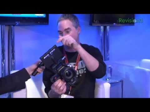 Hak5 - CES 2011 - RED Scarlet hands on with Ted Schilowitz