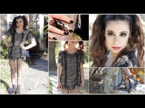 Vampire • Witch • Zombie | Cute Halloween DIY Tutorial: Makeup, Hair, &