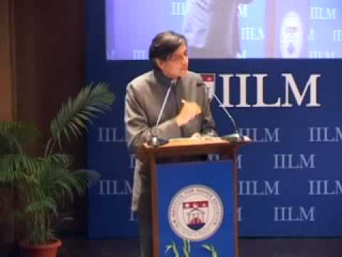 IILM Global Thinker Award 2010 to Dr. Shashi Tharoor, Min of State for EA, March 5.2010