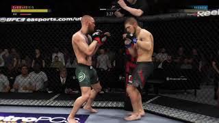 Conor McGregor vs Khabib Nurmagomedov | WHAT A FINISH!! | UFC 3!!