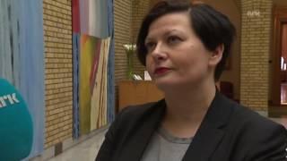 Her får Arbeiderpartiets Helga Pedersen samme spørsmål 24 ganger!