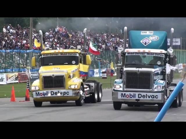 Gran Premio Nacional de Tractomulas 2010 Tocancipá Colombia - Eliminatorias
