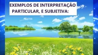 MÉTODOS E REGRAS DE INTERPRETAÇÃO DE PROFECIAS BIBLICAS