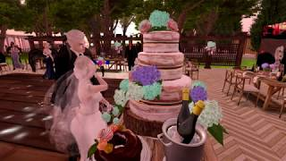 Yeltsin & Abrielle Second Life Wedding - 3.25.18