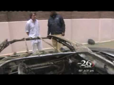 Daniels' political adviser's car explodes Video