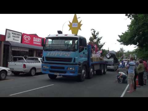 Hanmer Springs Christmas Parade