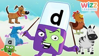 Phonics - How to Spell Animals | Alphablocks | Learn to Read | Wizz Learning