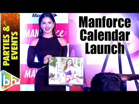 Sunny Leone At Special Manforce Calendar Launch