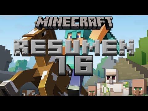 Minecraft 1.6 'Horse Update' Review ~ ¡Versión al completo! [Incluye 1.6.1]