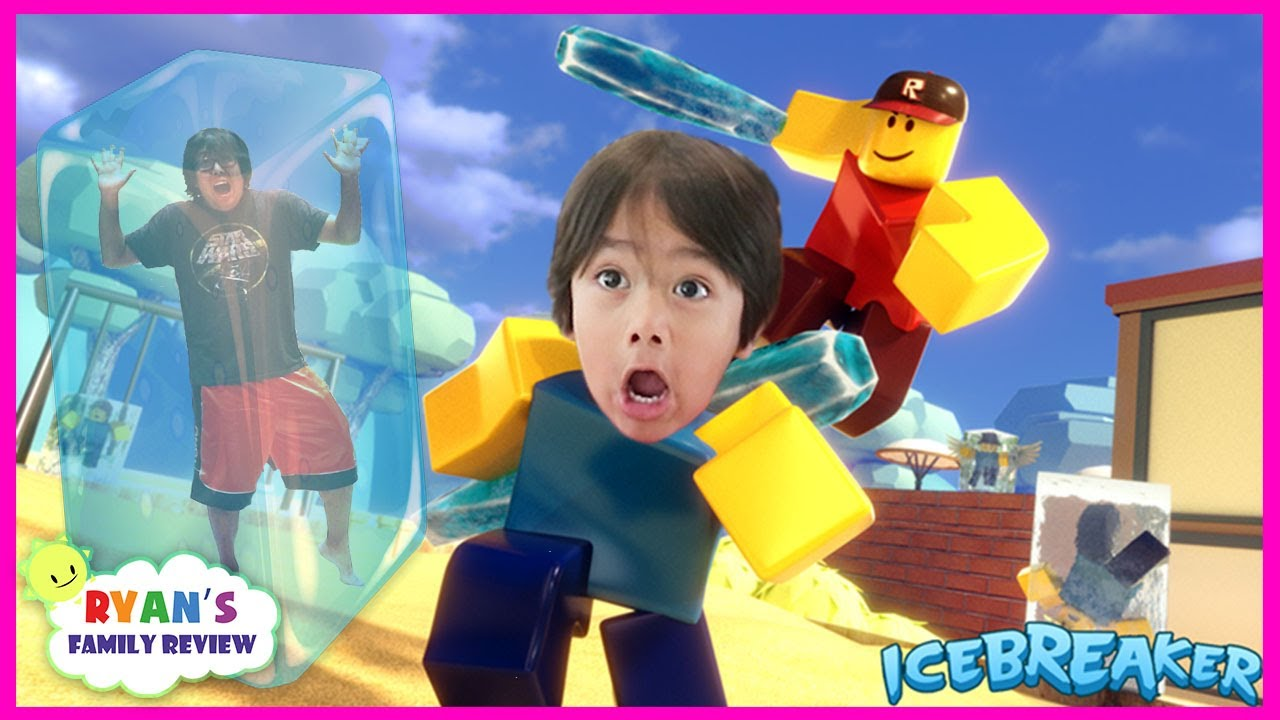 ROBLOX Ice Breaker Summer Games 2017! Let's Play with Ryan's Family Review