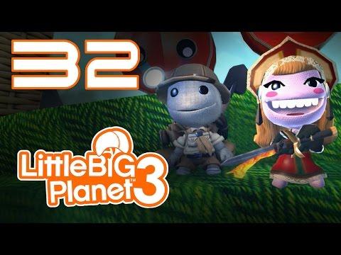 LittleBigPlanet 3 - Прохождение игры на русском - Кооператив [#32] PS4